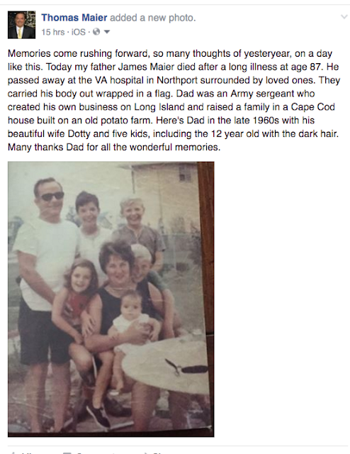 Memories of My Father, James Maier