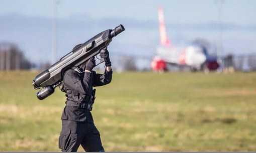 Senjata SkyWall 100 Si Pembunuh Drone