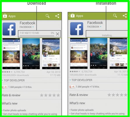facebook download for android mobile
