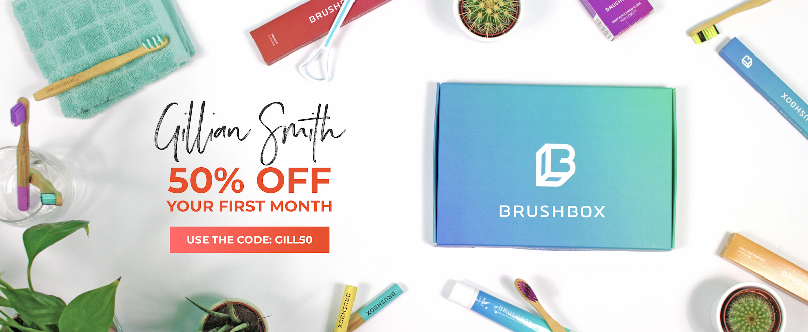 Brushbox | Oral Health Direct To Your Door Discount Code