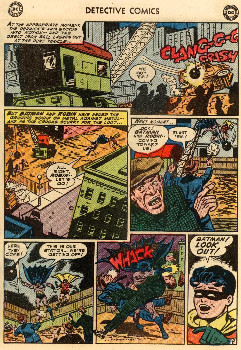 Read online Detective Comics (1937) comic -  Issue #207 - 9