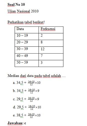 Soal Dan Jawaban Statistika : jawaban, statistika, Jawaban, Statistika, MAGISTER, MATEMATIKA