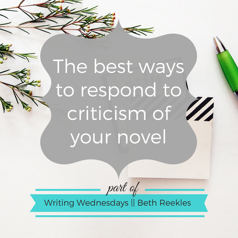 Negative comments can be hard to deal with as a writer, so in this post I share the best ways you can respond to criticism of your novel.