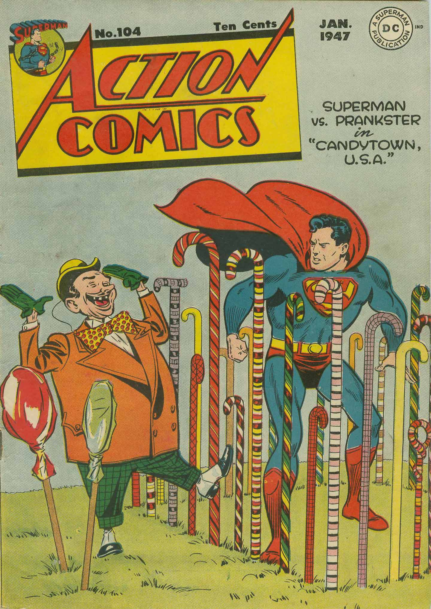 Read online Action Comics (1938) comic -  Issue #104 - 1