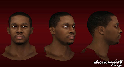 NBA 2K13 C.J. Miles Cyberface Patch NBA2K Mods