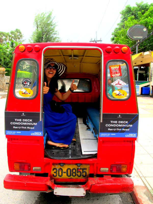 Colorful attractive tuk tuks