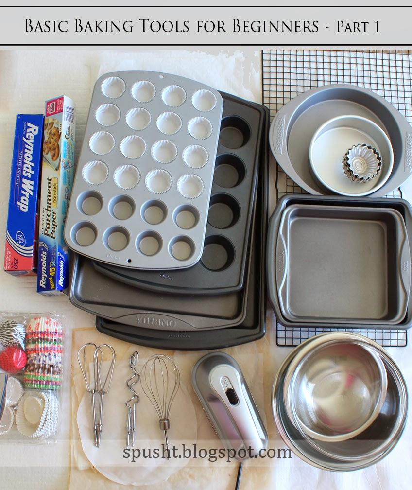 Spusht Basic Bakeware Needs For Beginners Baking Tools
