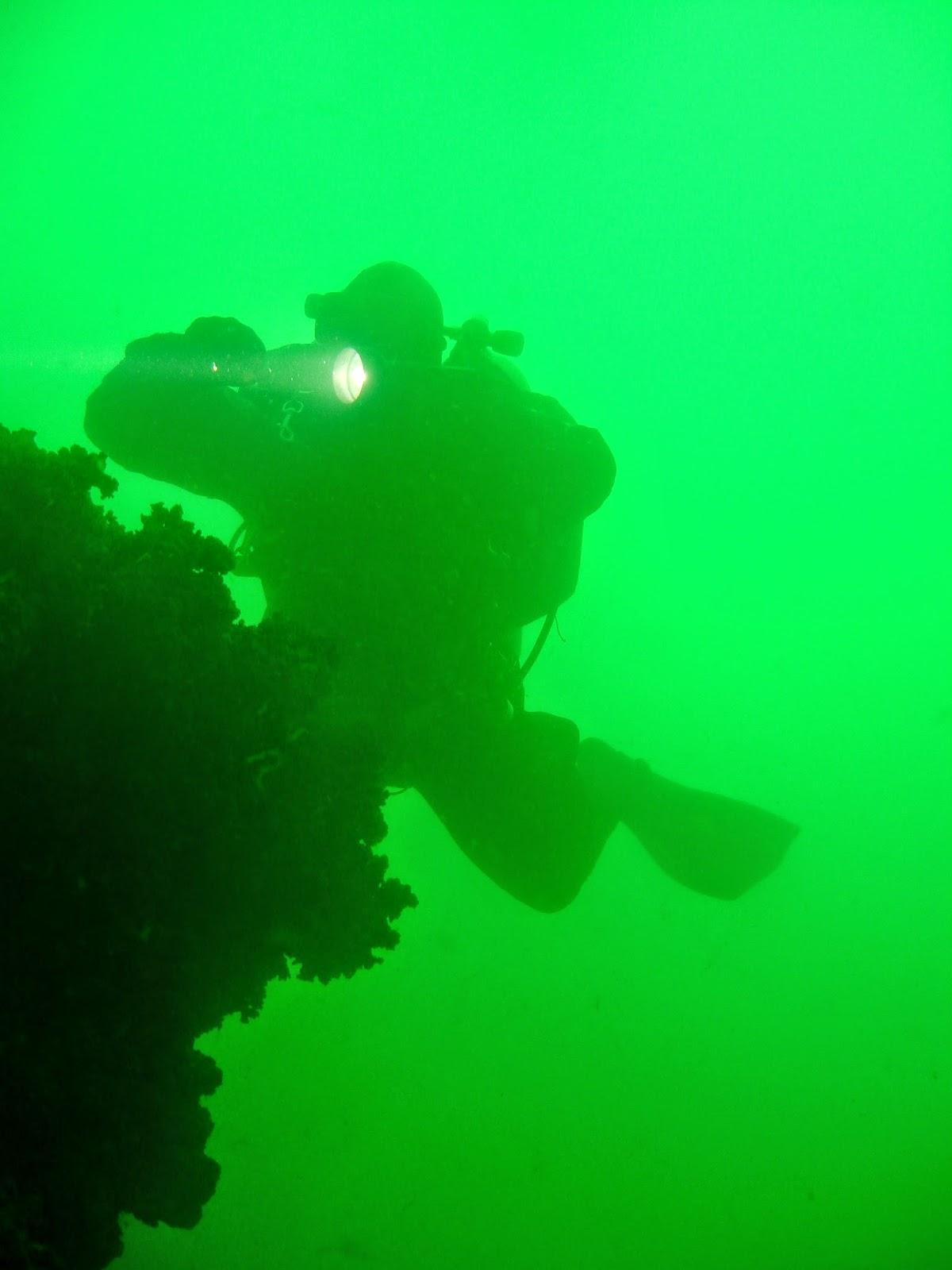 buceo laguna de Alchichica