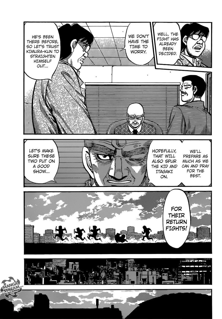 Hajime no Ippo - Chapter 1135