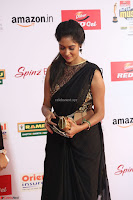 Sindhu looks fabulous in Black Saree designer choli at Mirchi Music Awards South 2017 ~  Exclusive Celebrities Galleries 062.JPG