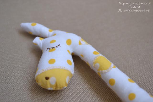 Jirafa muñeco de trapo muy fácil