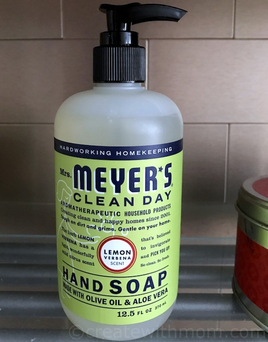 Create With Mom Mrs Meyer S Clean Day Products And Giveaway