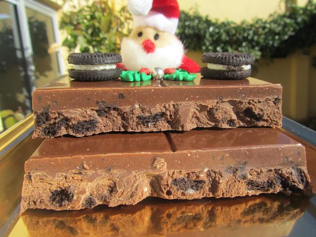Turrón de chocolate y oreos Ana Sevilla