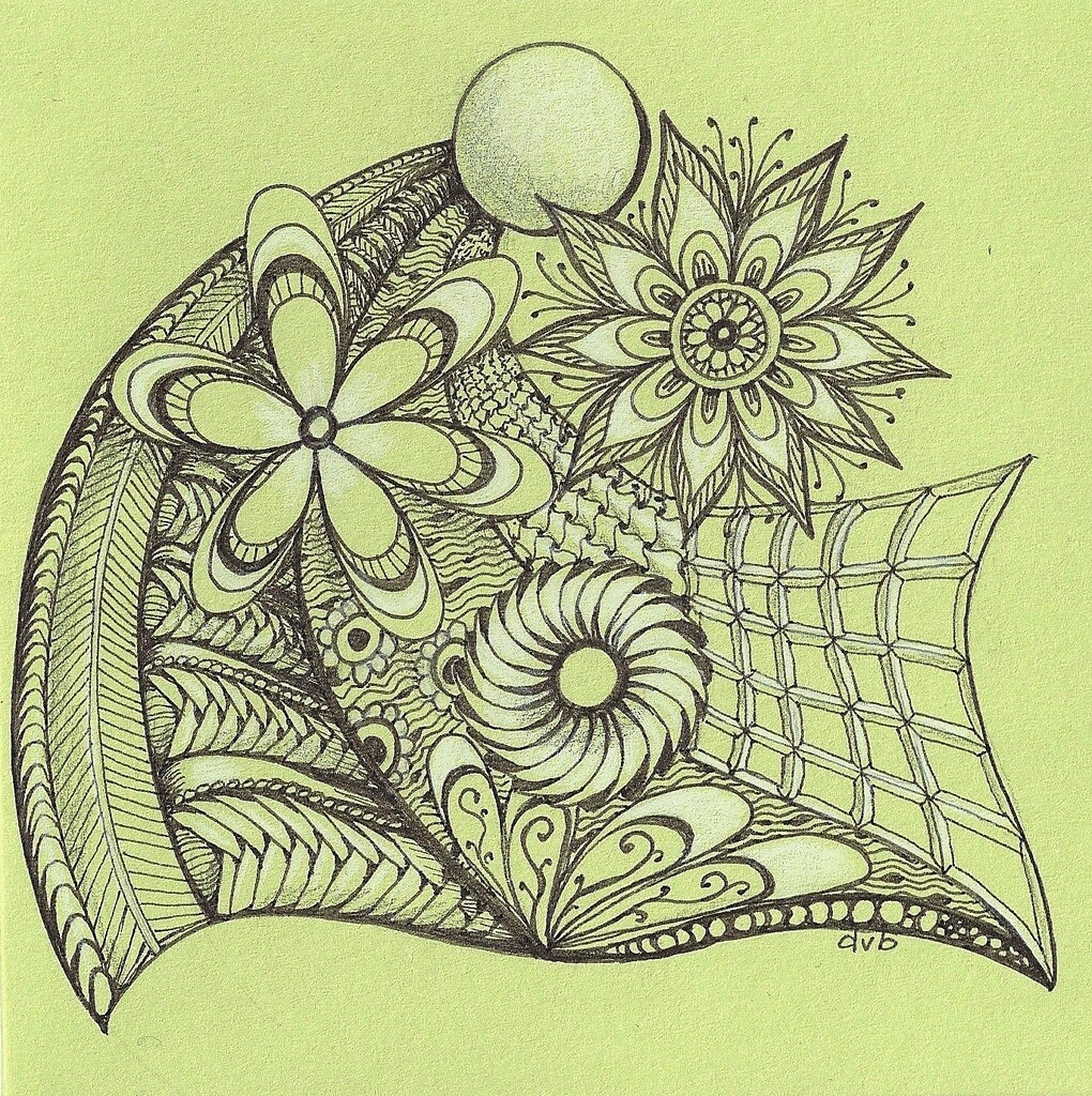 01-Blanket-of-Flowers-Deborah-Elaborate-Zentangle-Drawings-www-designstack-co
