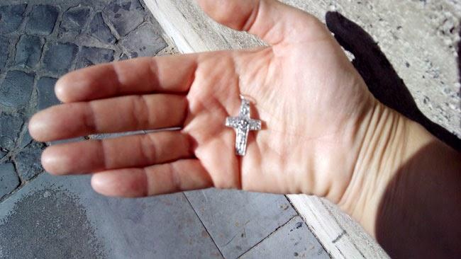 Crucifixo papa Francisco - Ano Santo Extraordinário