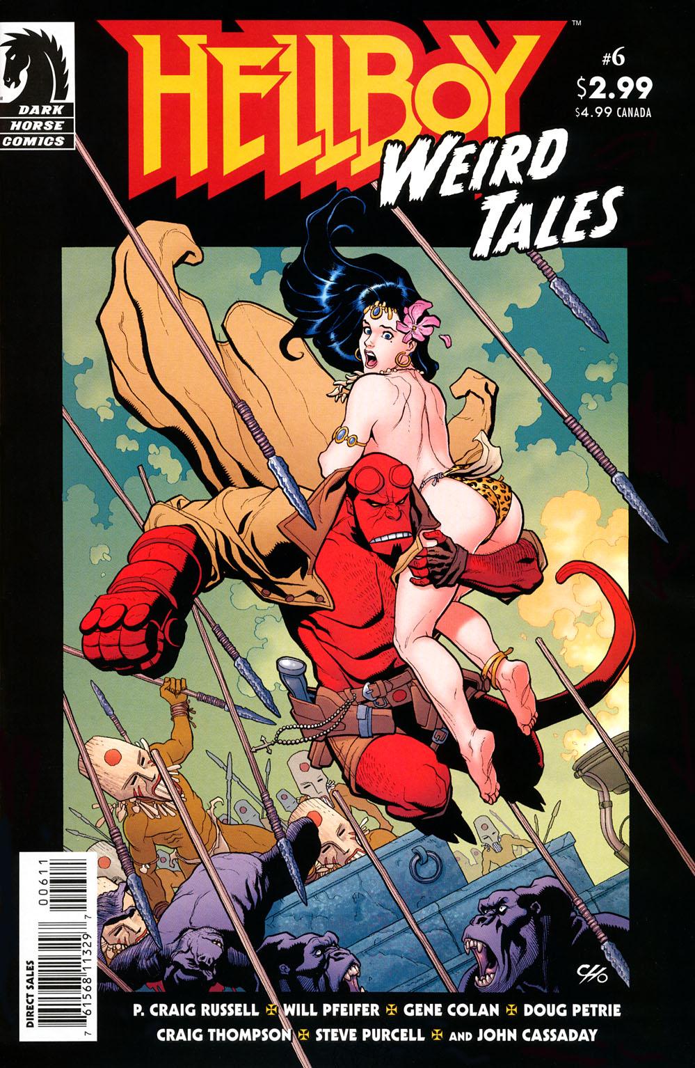 Read online Hellboy: Weird Tales comic -  Issue #6 - 1