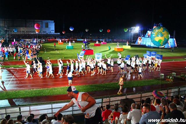 A Debreceni Egyetemé a második legnépesebb magyar delegáció a 3. Európai Egyetemi Játékokon. Két héten át 45 ország legjobbjai versenyeznek.