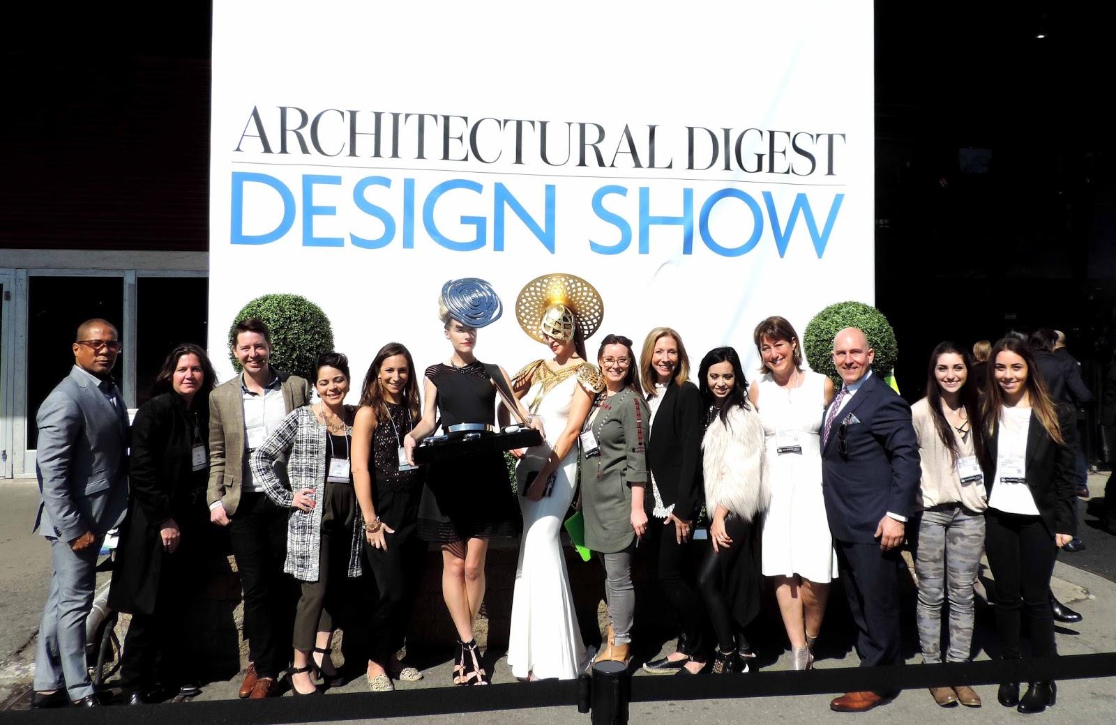 Ifda ny recap of last week 39 s architectural digest home for Architectural digest show