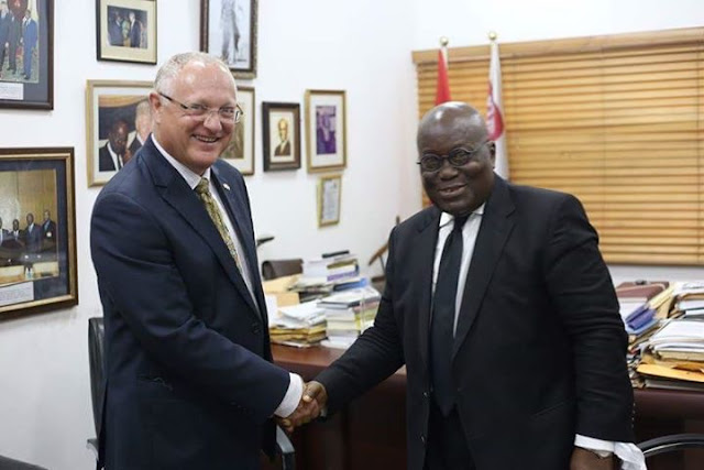 Nana Akufo-Addo Is a Peaceful man -Israeli Ambassador to Ghana