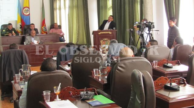 Concejo de Facatativá instaló último periodo de sesiones extraordianarias de 2016