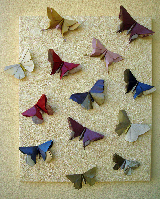 Origami Maniacs: Beautiful Origami Butterfly by Michael ... - photo#27