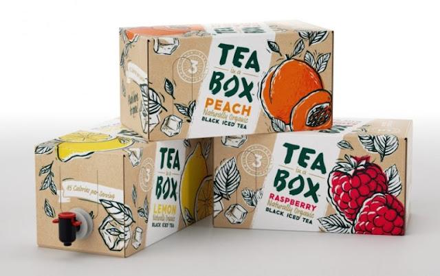 In hộp đựng trà giá rẻ