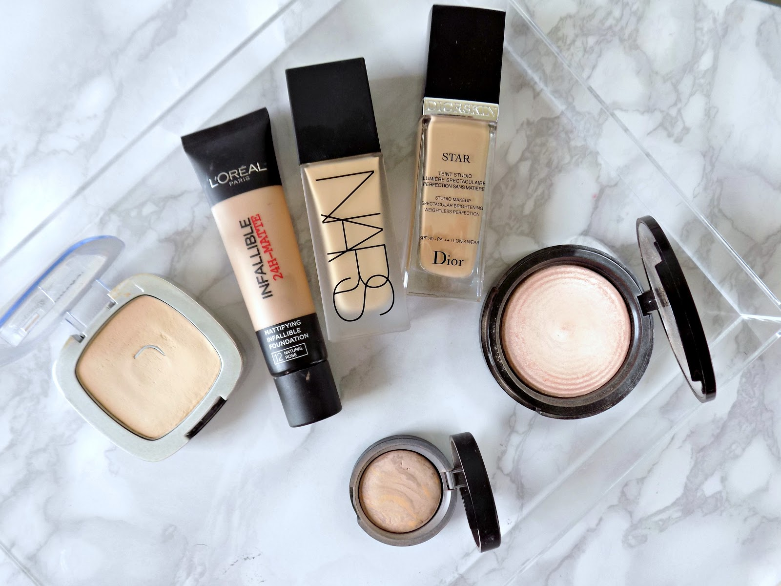foundations and powders