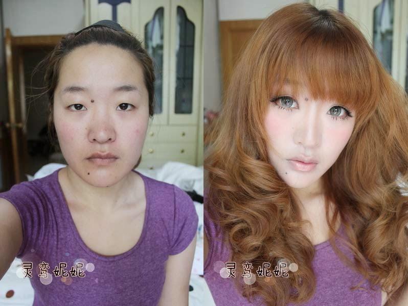 marketing buzzz photos de chinoises avec et sans maquillage qui buzzent sur le web. Black Bedroom Furniture Sets. Home Design Ideas
