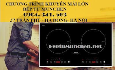 bếp từ Munchen xuất xứ châu Âu