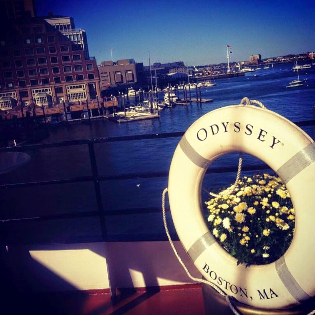 Boston Waterfront Cruise Wedding Flowers