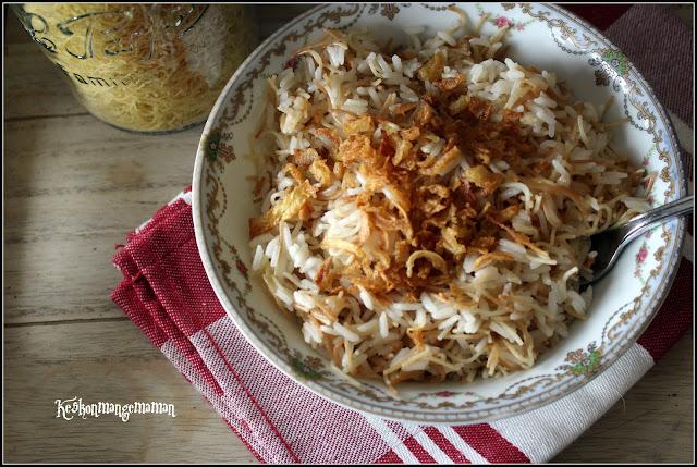 riz aux vermicelles liban