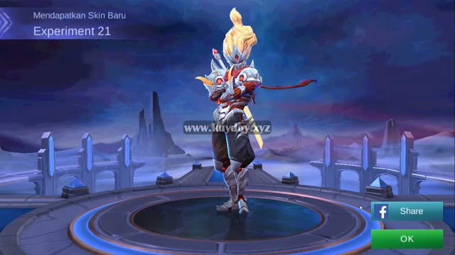 Download Script Skin Hayabusa Starlight Patch Terbaru