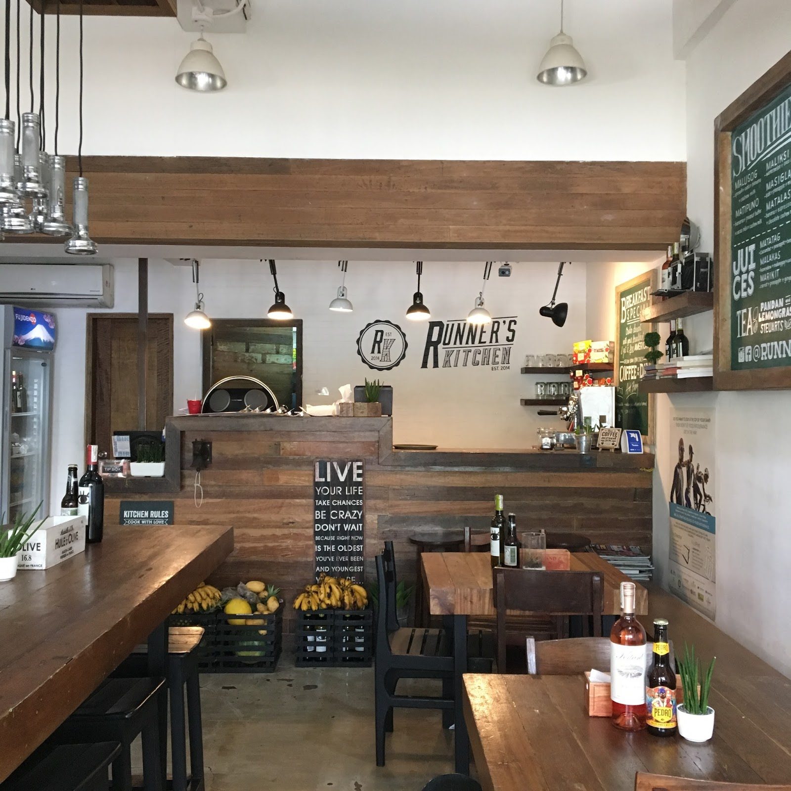 runners kitchen in stock cabinets runner s tomas morato the foodinista cashier area of