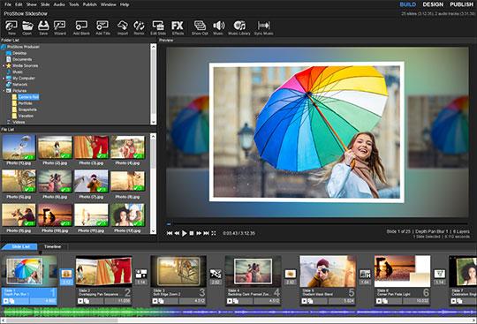 تحميل برنامج صانع الفيديو من الصور والاغاني