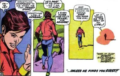 Captain Marvel #17, Rick Jones is on a quest