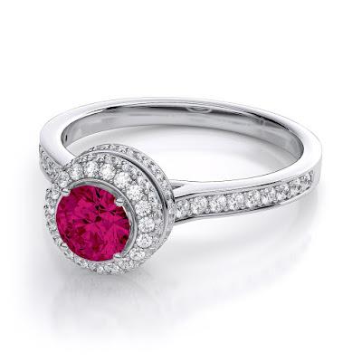 Nhẫn Ruby, Kim Cương