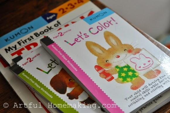 Kumon preschool books