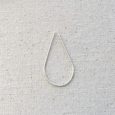 Free Tutorial - Making a Wire Teardrop Frame for Beading