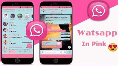 Aplikasi Palsu Whatsapp Pink pencuri data pengguna