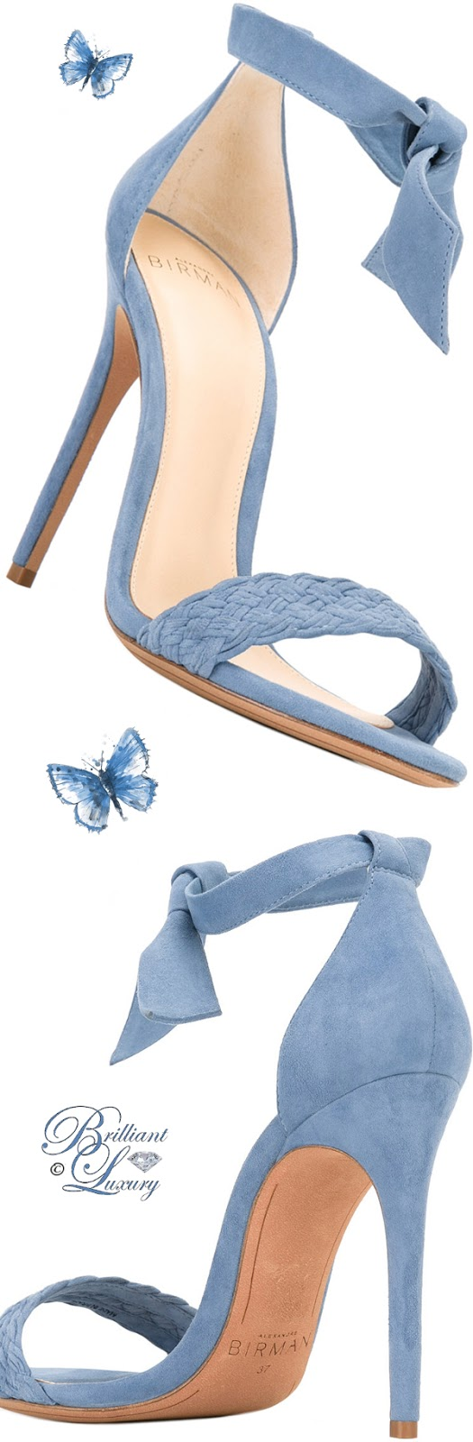 Brilliant Luxury ♦ Alexandre Birman Ankle Length Sandals