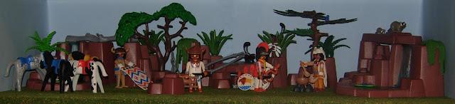Playmobil custom Plain Indians