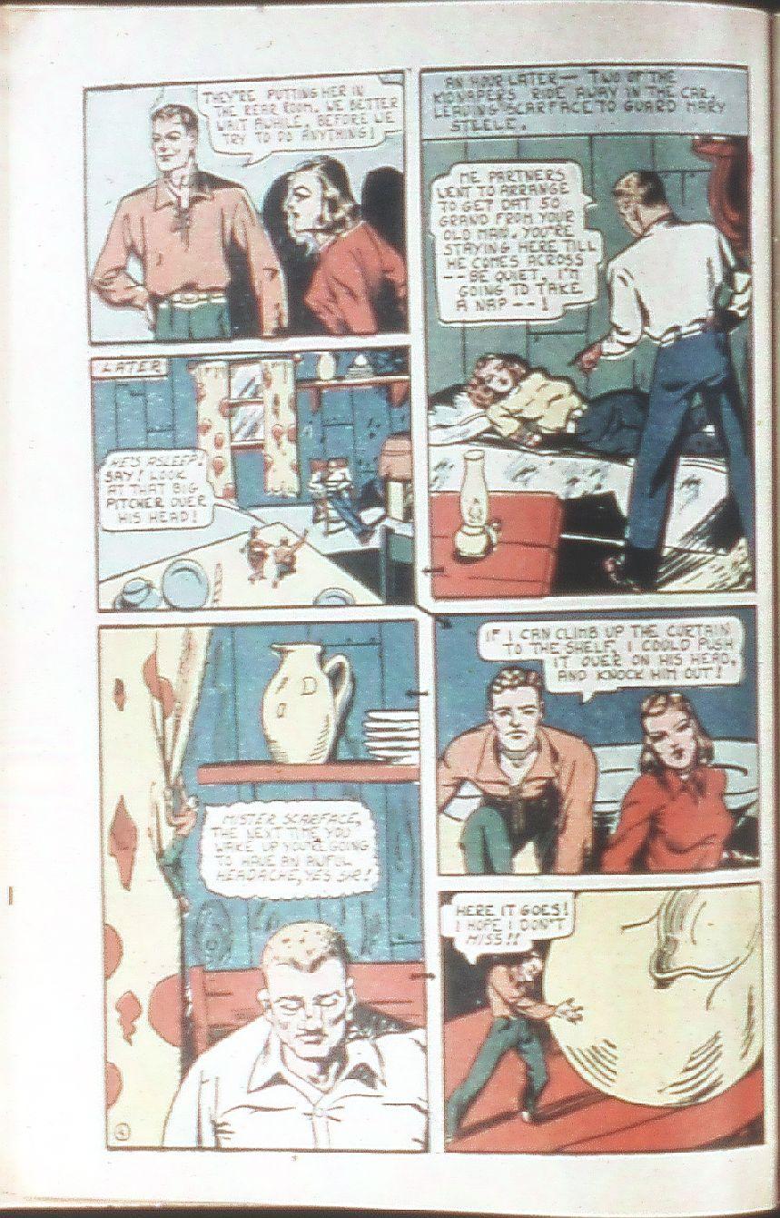 Read online Amazing Man Comics comic -  Issue #18 - 18