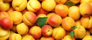 Fresh apricot sambuk