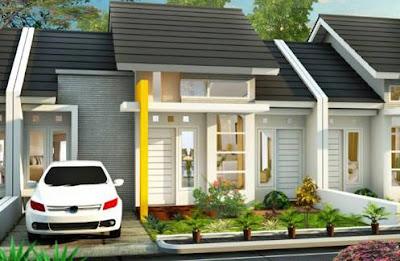 Model Foto Desain Rumah Minimalis 1 Lantai Type 45