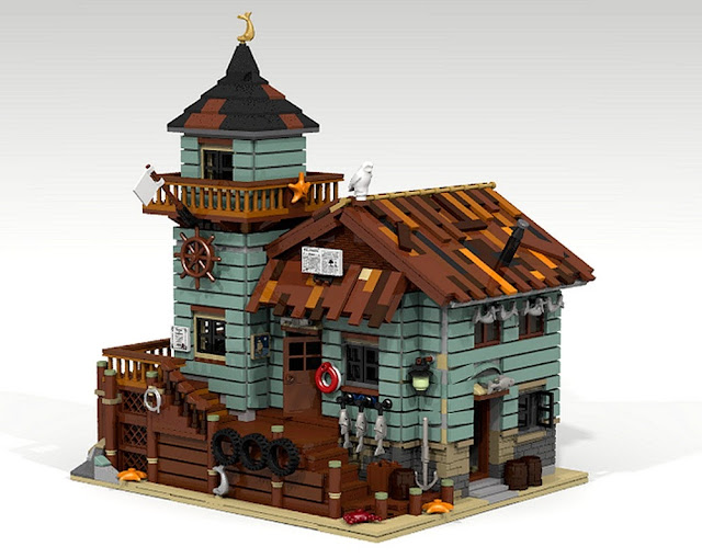 Ideas ideas for Lego old fishing store