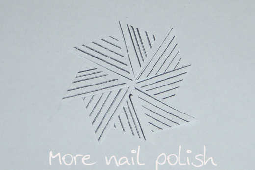 Straight Line Design Art : Four new magnet designs to make at home more nail polish