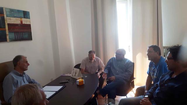 Συνάντηση της Πρωτοβουλίας Πολιτών για την επαναφορά του  τρένου στην Αργολίδα με το βουλευτή Γιάννη Γκιόλα