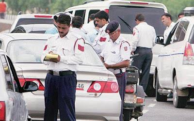 Gurugram Traffic Police E- Challan