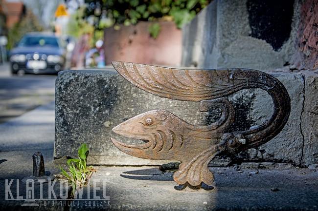 Wrocław: secesyjny skrobak w kształcie ryby
