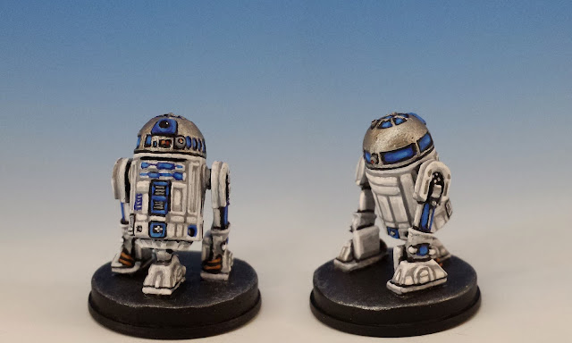 R2-D2, Imperial Assault FFG (2015, sculpted by B. Maillet)